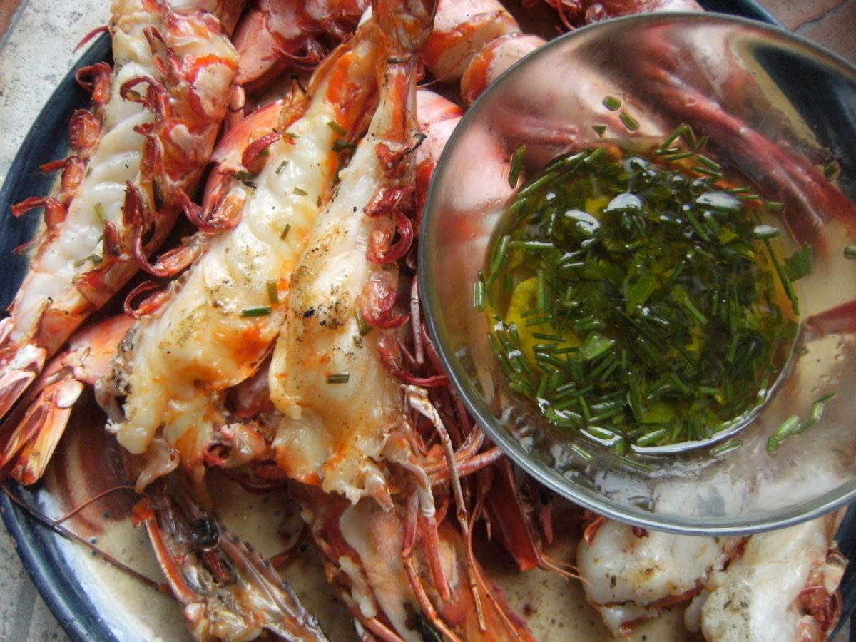 Comment cuire gambas - Marinade gambas grillees au barbecue ...