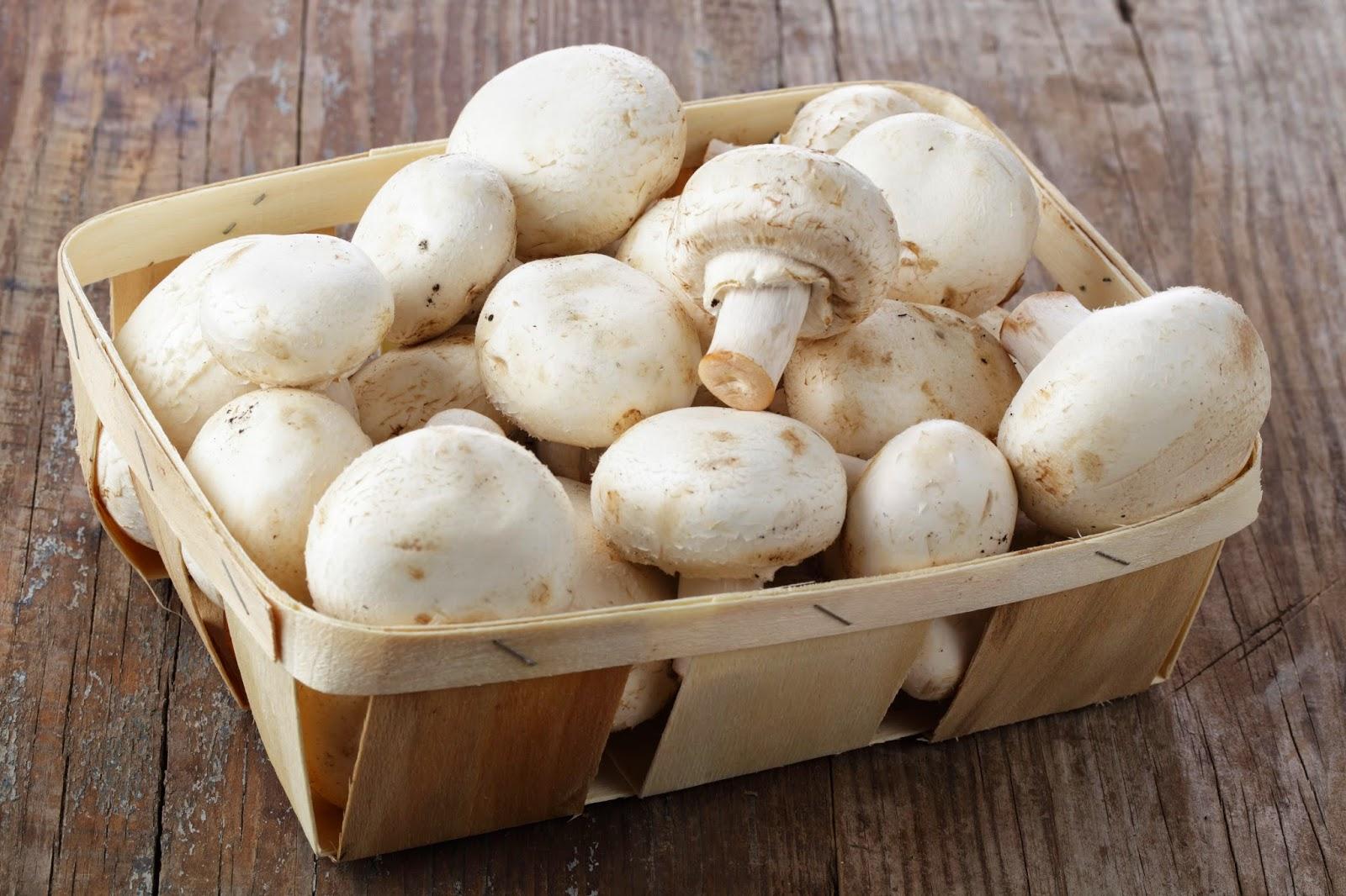Comment cuire des champignons de paris frais