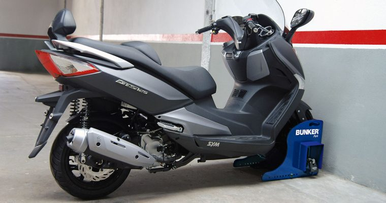 L'antivol de moto pour retrouver sa moto après la pause déjeuner